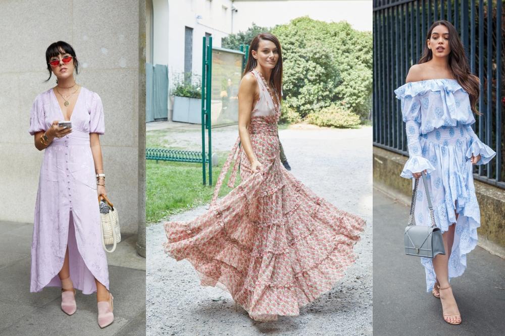 9f99b5c3aa Sukienki w stylu boho na lato 2019. Stylowe fasony maxi