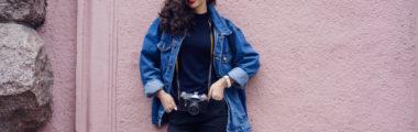 modne kurtki jeansowe wiosna lato 2019