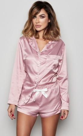 Różowa piżama Amber - sprawdź cenę