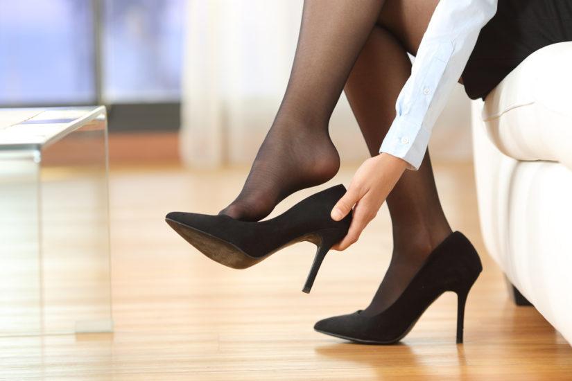 sposób na za duże buty