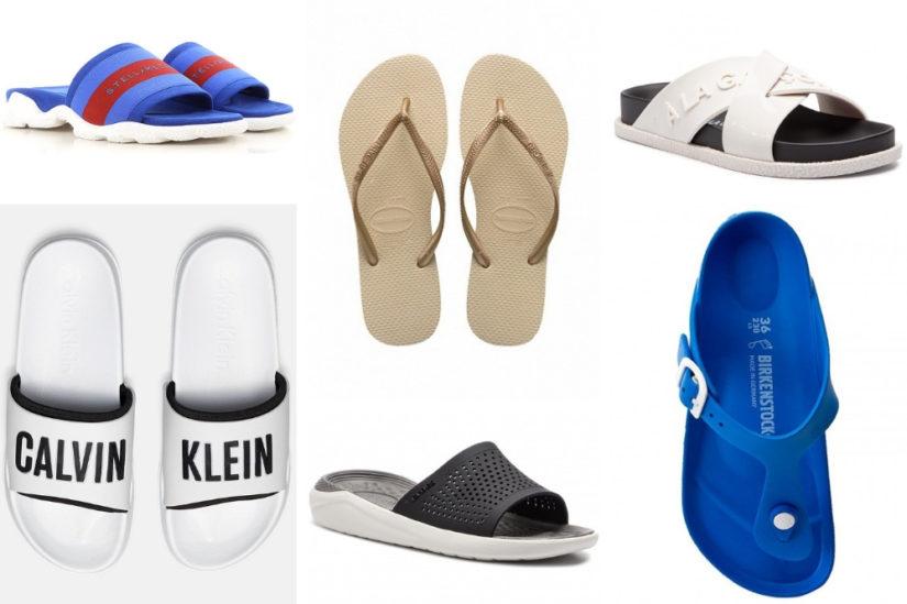 000aaaa9d168ab Klapki damskie plażowe i sportowe to idealne propozycje nie tylko na  wakacyjny wypad czy relaks po pracy. W tym sezonie tego rodzaju obuwie oraz  wracające ...