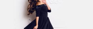 Makijaż do czarnej sukienki powinien podkreślać twój styl i charakter twojego stroju