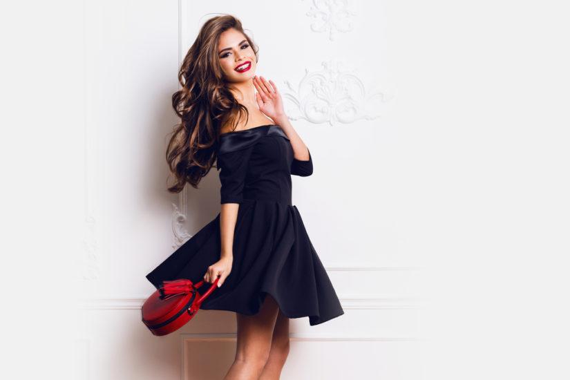 d07a2a0432 Makijaż do czarnej sukienki powinien podkreślać twój styl i charakter  twojego stroju