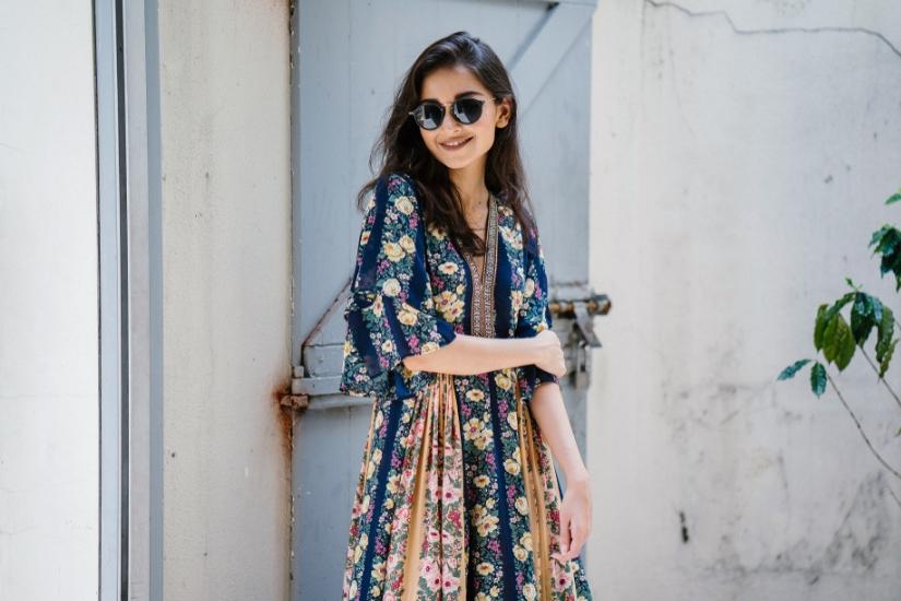 sukienki maxi wiosna/lato 2019