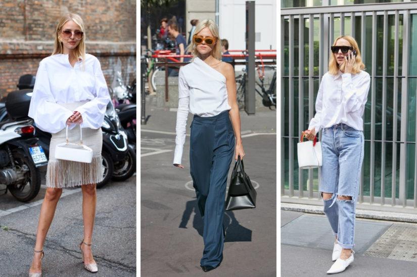 6360e50e64183f Ukochane przez nas białe koszule na lato 2019 dowodzą, że są ubrania, które  nigdy nie wychodzą z mody. Klasyczne i nowocześnie przeobrażone, ...