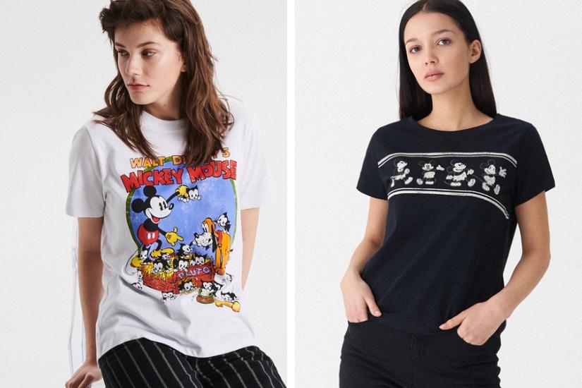 modny T-shirt na lato 2019