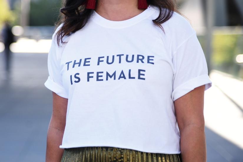 T-shirt damski na lato 2019