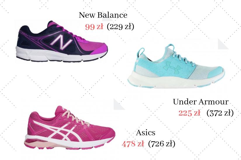 buty sportowe do biegania z wyprzedaży