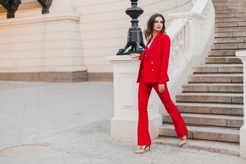 spodnie garniturowe trendy lato 2019