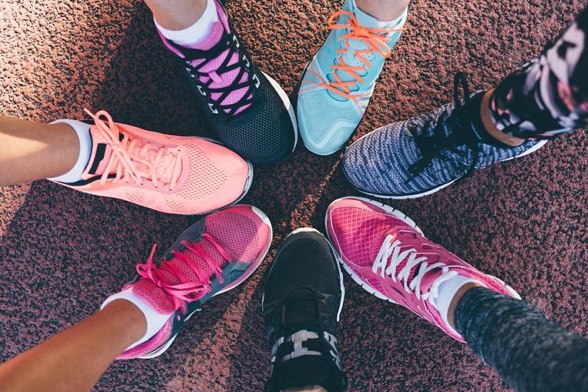 sportowe buty damskie z wyprzedaży