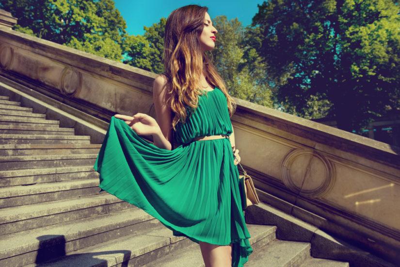 Jakie Dodatki Do Zielonej Sukienki Poradnik