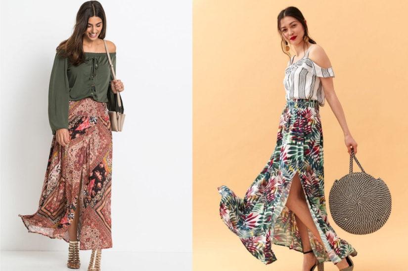 9f1341df Długie spódnice na lato 2019 – fasony i stylizacje idealne na ...