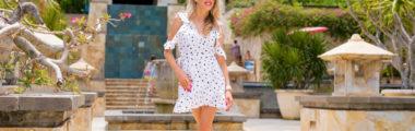 Letnie sukienki w groszki cieszą się niesłabnącą popularnością i zawsze wyglądają bardzo stylowo!