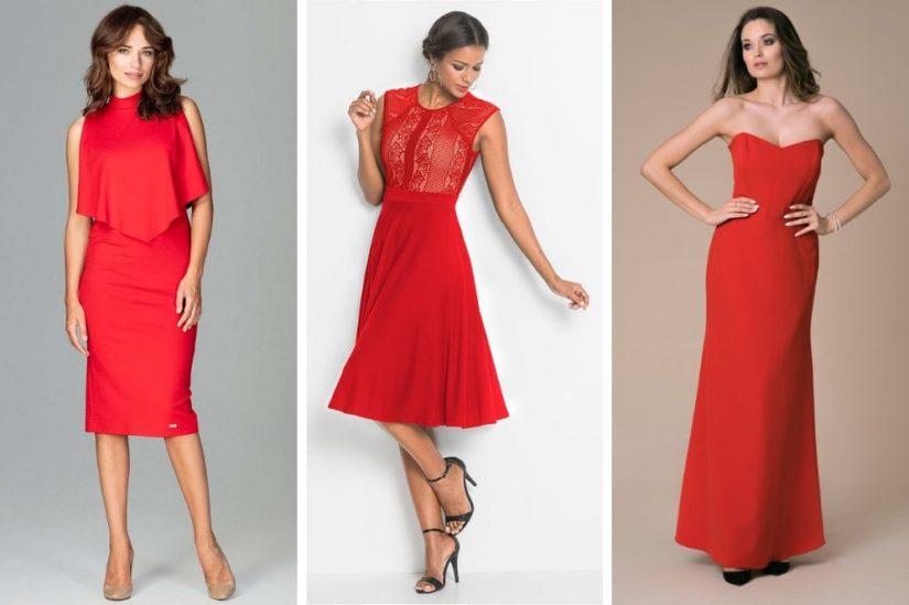 Czerwona Sukienka W Czym Tkwi Jej Fenomen I Z Czym Ja Zestawiac Allani Trendy