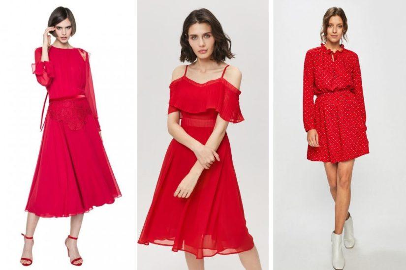 Czerwona sukienka – w czym tkwi jej fenomen i z czym ją