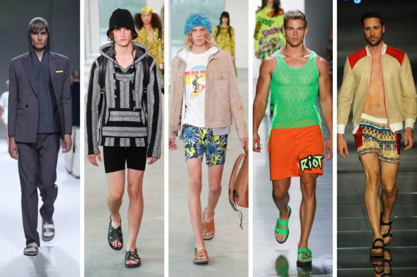 modne męskie buty bez skarpetek 2019