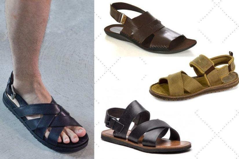Sandały męskie 2019 – wybierz najwygodniejsze buty na lato
