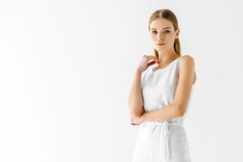 Sukienki lniane są wygodne, stylowe i ponadczasowe!