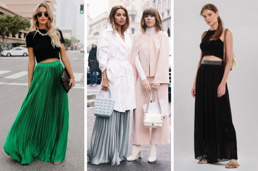 Plisowana spódnica: stylizacje idealne na co dzień, do pracy