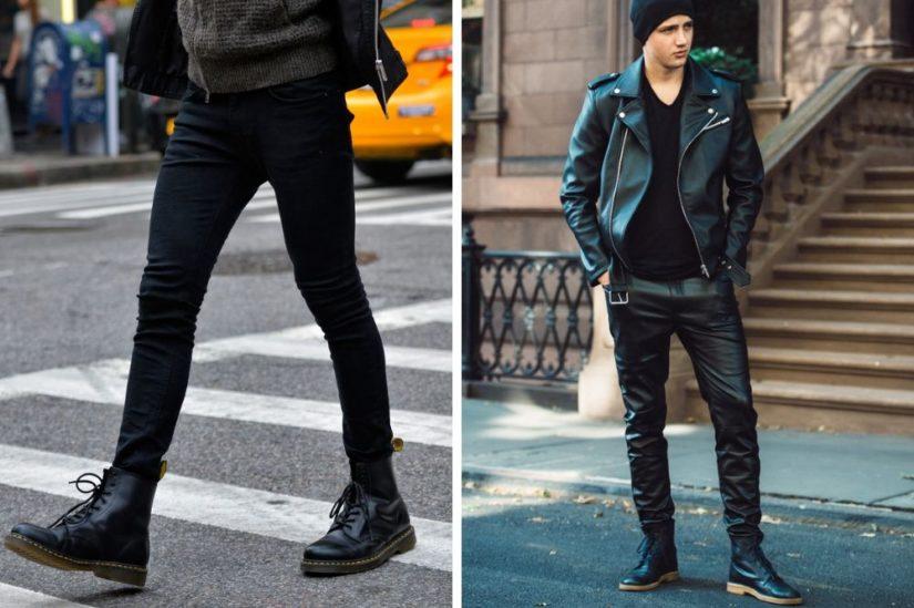 buty męskie jesień moda