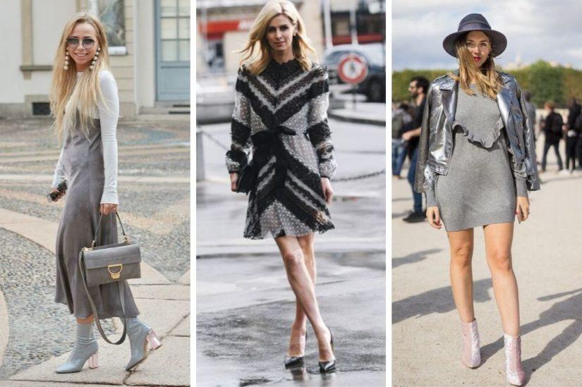 Jakie Buty Pasuja Do Szarej Sukienki Allani Trendy