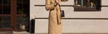 Szykowny płaszcz camel to jedno z najbardziej ikonicznych okryć na jesień i zimę!