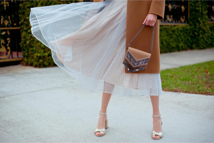 Szykowna spódnica tiulowa - stylizacje z nią jeszcze nie raz cię zaskoczą!