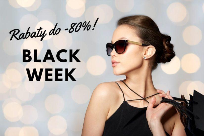 Podczas Black week znajdziesz rabaty do 80 proc.!