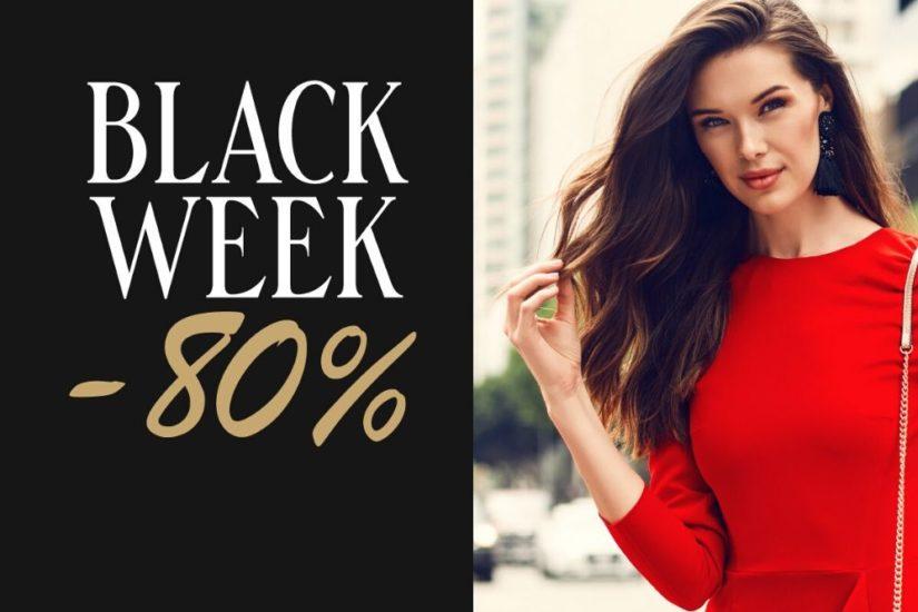 Szukaj najmodniejszych ubrań, butów i dodatków podczas wyprzedaży Black week!