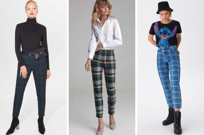 Postaw Na Wzory Spodnie W Krate Damskie W Stylowej Odslonie Jak Je Nosic Allani Trendy