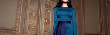 Modne sukienki na wesele w zimie to zarówno modele z długim, jak i krótszym rękawem.