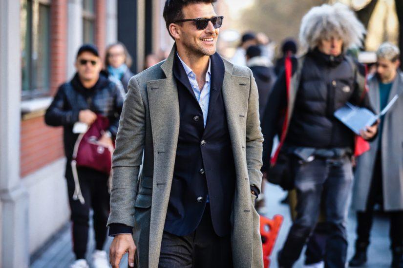 modne płaszcze męskie 2020