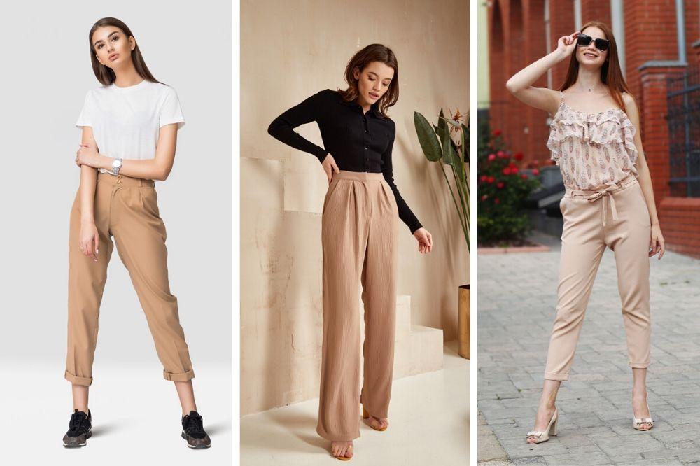 Bezowe Spodnie Stylizacje Damskie I Meskie Na Lato 2020 Allani Trendy
