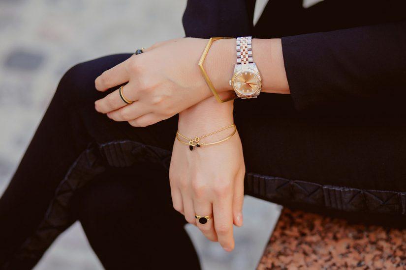 złote bransoletki na lato 2020