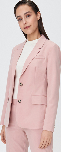 różowa marynarka sinsay