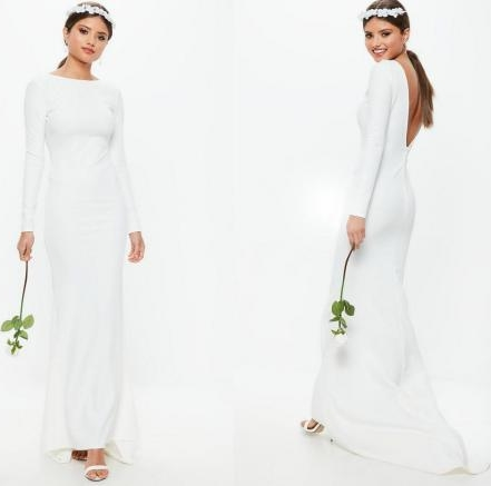 Modne suknie ślubne z długim rękawem kupisz także w sklepach sieciowych
