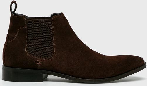 Brązowe buty Medicine zachwycą zwolenników elegancji
