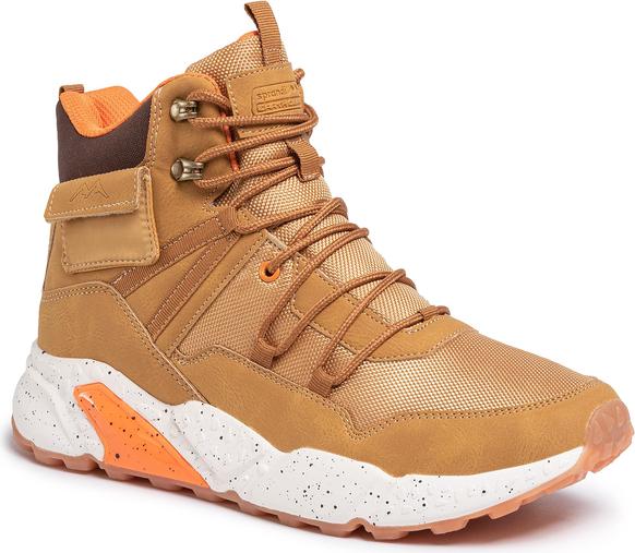 Brązowe buty zimowe do kupienia na eobuwie to propozycja o nietuzinkowym designie