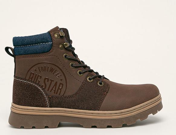 Buty Big Star sznurowane to świetne dopełnienie stylizacji na cieplejsze dni