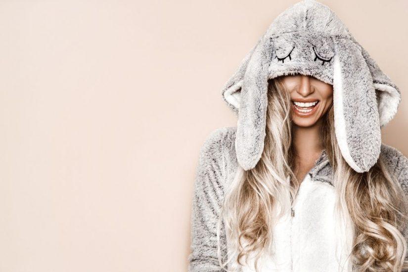 Piżama-kombinezon damska będzie idealna na chłodne wieczory!