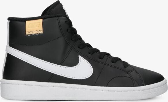 Czarne sneakersy Nike z wyprzedaży to świetny wybór dla fanek retro