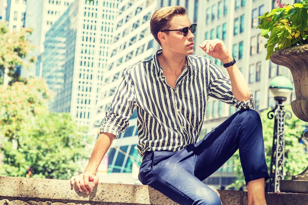 Koszule letnie męskie w kratę to ponadczasowy wybór na 2021