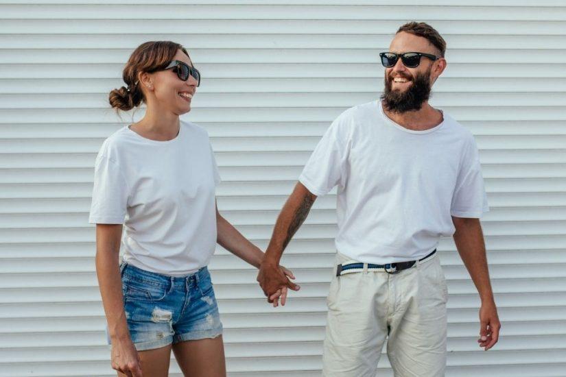 bluzki dla par to hit wśród zakochanych