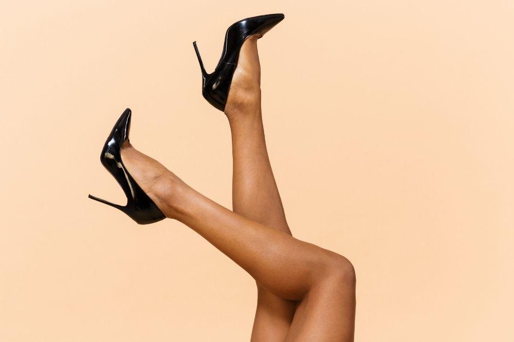 jak wyszczuplić optycznie nogi z pomocą butów