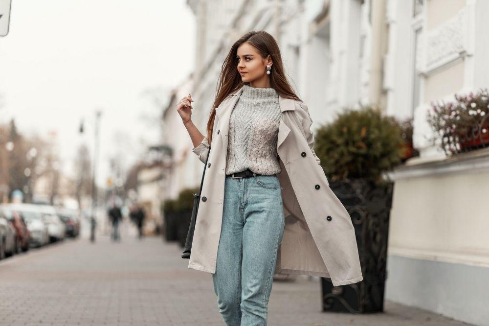 Jak dobrać jeansy do figury typu kolumna?